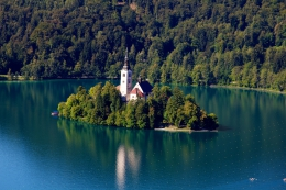 Alpski biser: BledThe pearl of the Alps: Bled