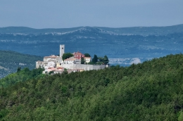 The crowned hills of Istria